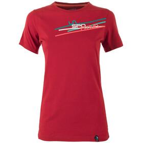 """La Sportiva W's Stripe 2-0 T-Shirt Berry"""